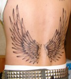 back tattoo designs good wings