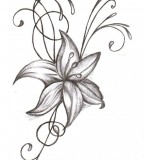 flower designs for tattoos big l