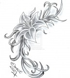 flower designs for tattoos drowen