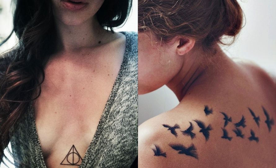 small tattoo designs birds and…