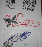 small tattoo designs on paper