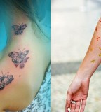 small tattoo designs on top