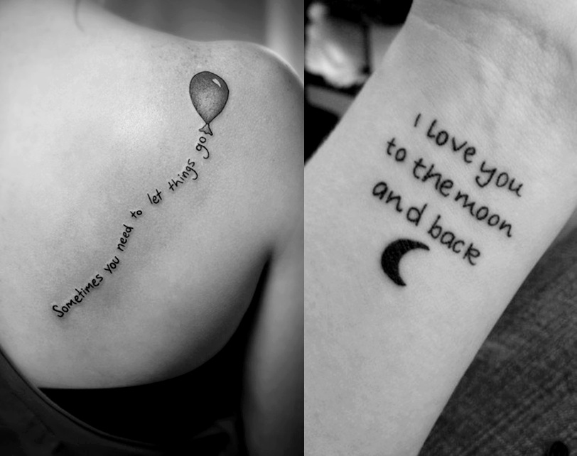 small tattoo designs words