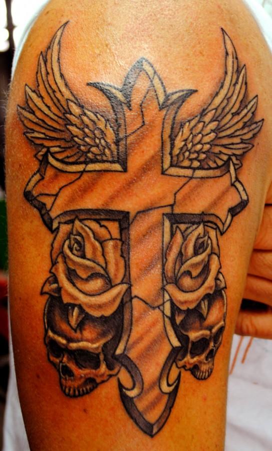 tattoo cross designs DC