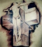 tattoo cross designs J.K