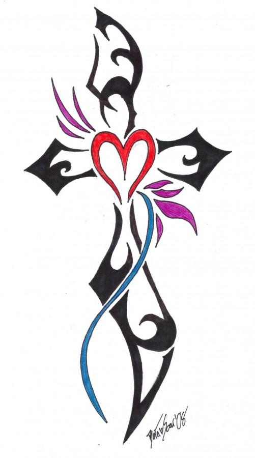 tattoo cross designs consept