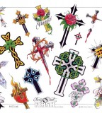 tattoo cross designs lots