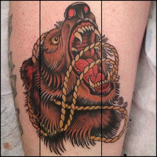 Angry-bear-tattoo
