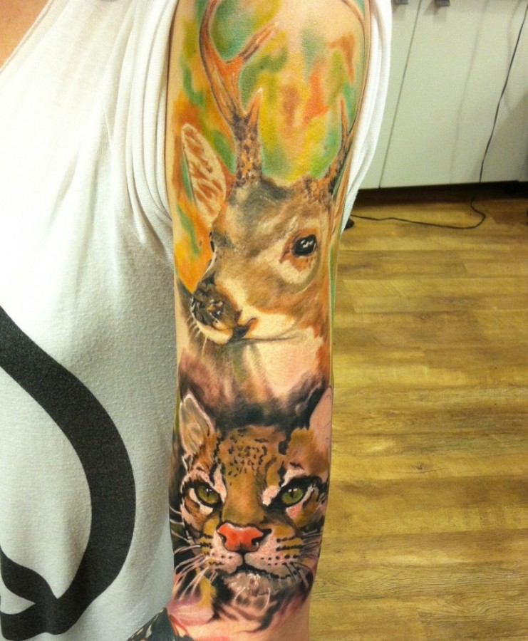 Awesome-animal-sleeve