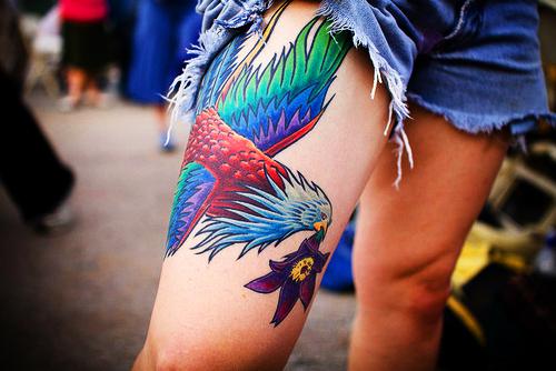 Beautiful-leg-tattoo