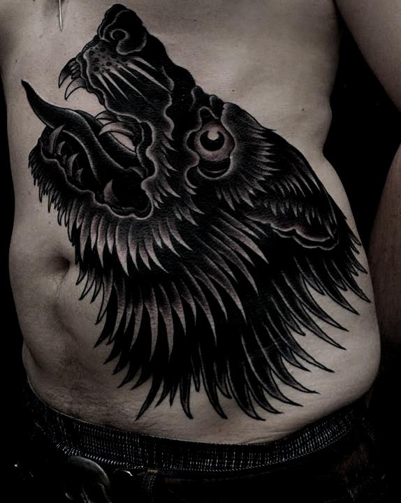 Black-wolf-tat