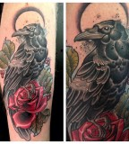 Crow-tattoo