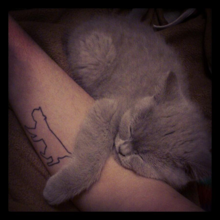 Cute-Cat-Cat-Tattoo