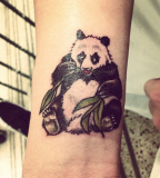 Cute-Panda-tattoo