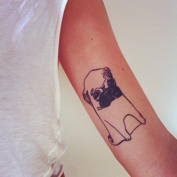 Cute-doggy-tattoo