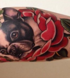 French-bulldog-in-flowers