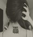 Owl-Neck-Tat