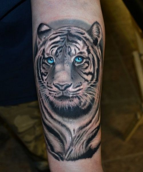 Realistic-Tiger-Tattoo