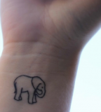Small-elephant-tattoo