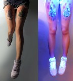 blacklight tattoo crystals