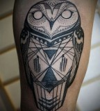 geometric-owl-tattoo