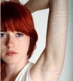 white ink tattoo white sleeve