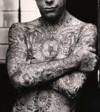 all body tattoo for man facial tattoo