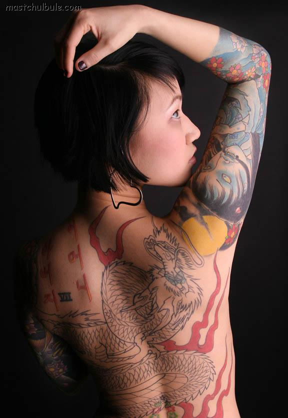 all body tattoo for woman oriental