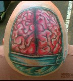 anatomical tattoo brain can