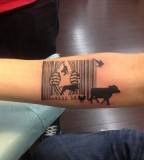 animal rights tattoo animal rescue