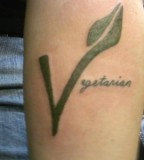 animal rights tattoo vegan symbol