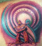 energy tattoo aurora
