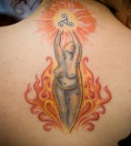 energy tattoo goddess