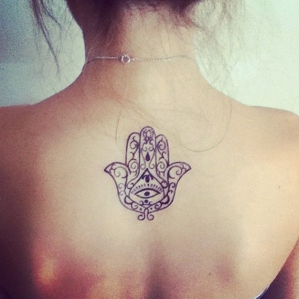energy tattoo hand of fatima