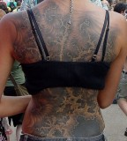 fractal tattoo full back