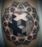 fractal tattoo geometric