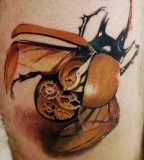 insect-tattoo-clockwork-beetle