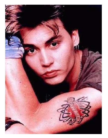 johnny depp tattoo betty sue