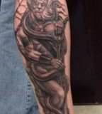 pagan tattoo horned god