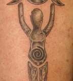 pagan tattoo sun and moon symbols