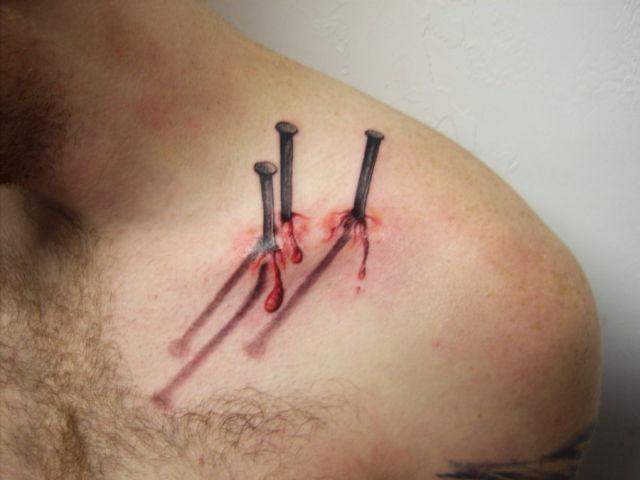 realistic tattoo nails