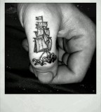 rockabilly tattoo ship