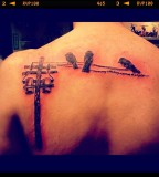 song lyric tattoo three little birds