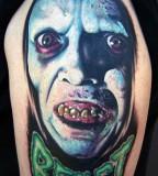 tattoo by Mike DeVries boogyman tattoo