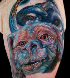 tattoo by Mike DeVries neverending story