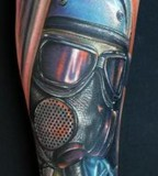tattoo by Mike DeVries shovelhead