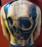 tattoo design for men amazing scull tattoo