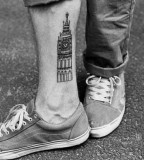 travel tattoo big ben