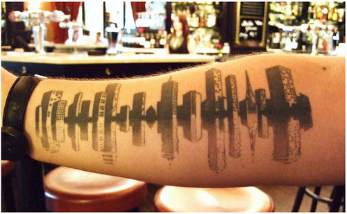 travel tattoo city