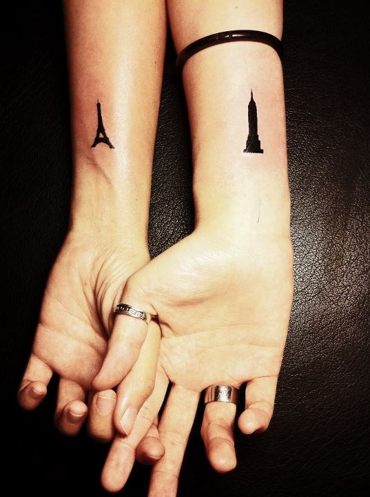 travel tattoo paris